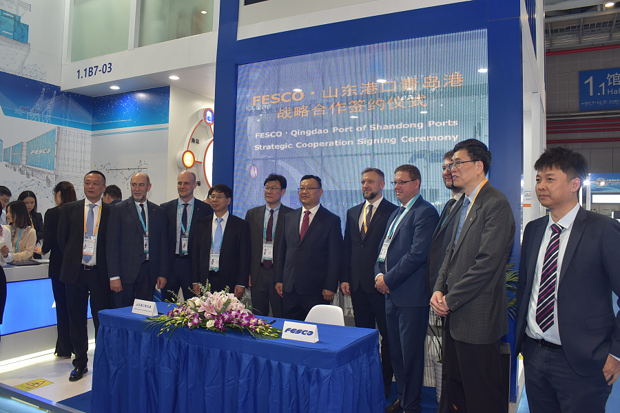 FESCO and Chinese partners are determined to develop liner shipping services and grain export from Russia
