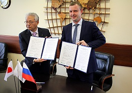 Commercial Port of Vladivostok and port Fushiki-Toyama (Japan) signed an agreement on international and foreign economic relations