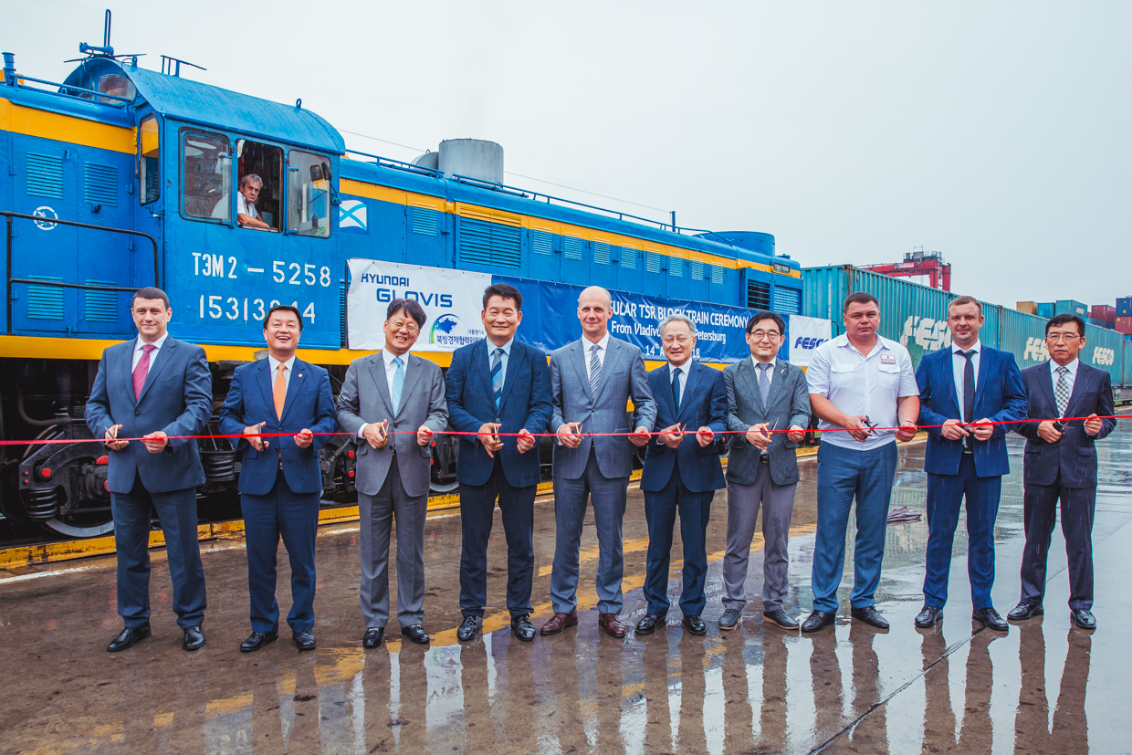 FESCO and Hyundai Glovis Jointly Launch Regular Cargo Transportation from Busan to Hyundai Plant in St. Petersburg