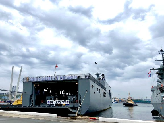 FESCO has provided comprehensive agency services to the ship of the Philippine Navy in the port of Vladivostok